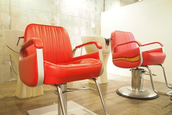越谷の美容室haco- hair 店内の様子 シャンプースペース
