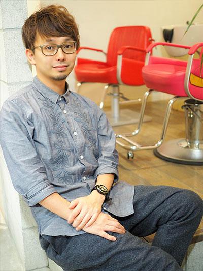 越谷の美容室haco-hairのスタッフ