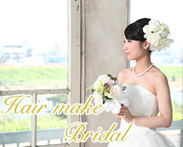 hair make & bridal